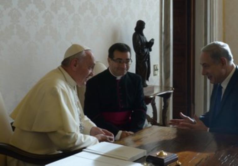 pope refuses to meet netanyahu