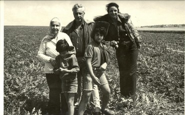 Ariel Sharon and family.