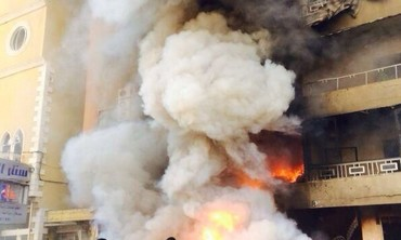 Explosion in southern Beirut suburb.
