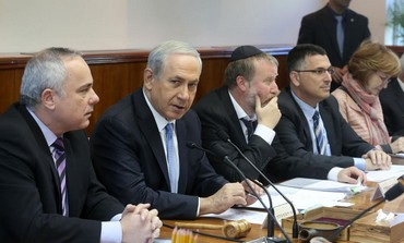 Prime Minister Binyamin Netanyahu speaks at weekly cabinet meeting, Feb. 9, 2014 Photo: Marc Israel Sellem