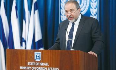 Foreign Minister Avigdor Liberman (Marc Israel Sellem/The Jerusalem Post)