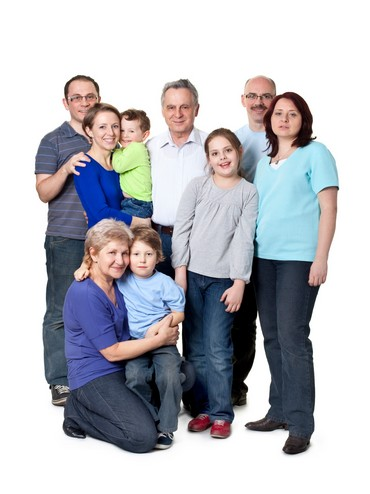 A Russian family
