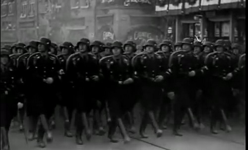 "Scene from ""Triumph of the Will"", 1935"