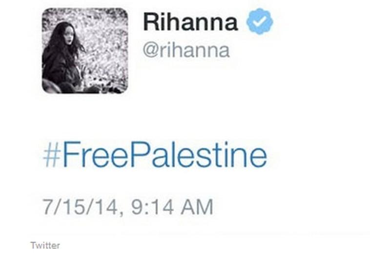 Rihanna's controversial tweet