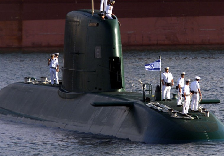 Image result for israel dolphin-2 class submarine