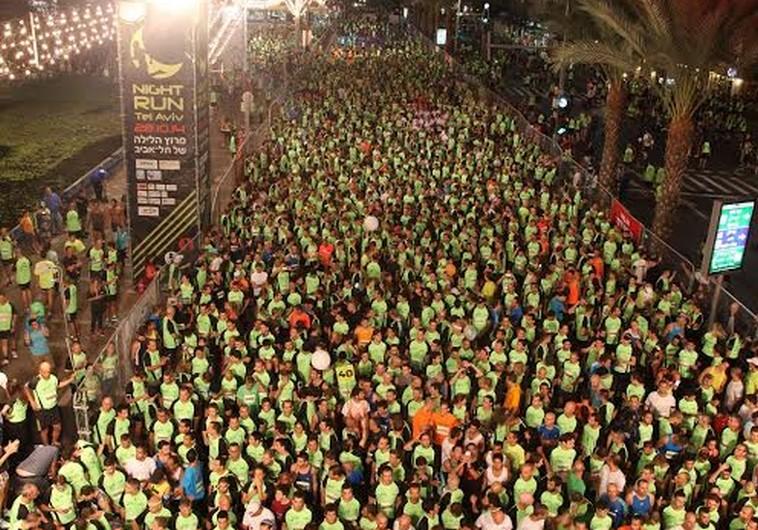 White Night Tel Aviv 2014 Tel Aviv Night Run
