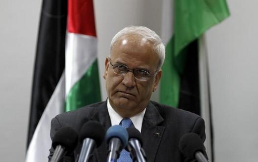 Chief Palestinian negotiator Saeb Erekat (Reuters).