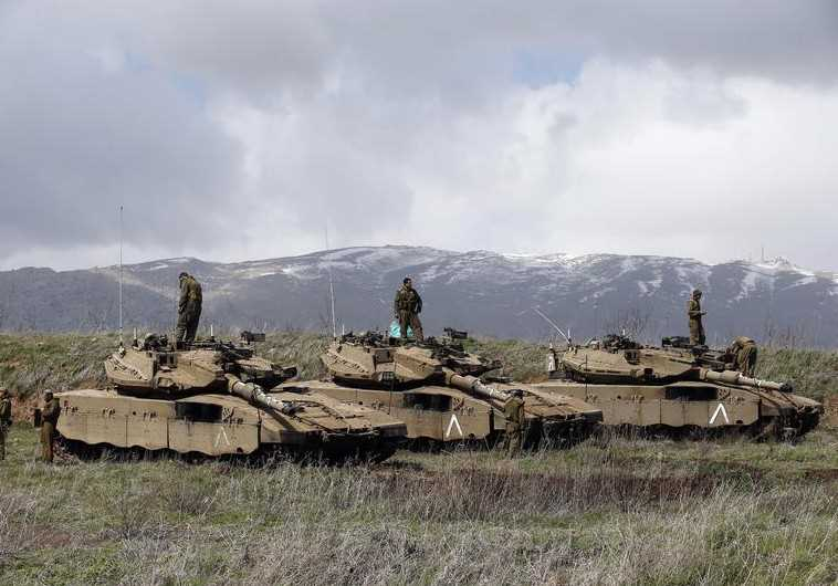 Image result for Syrian military build up near Golan Heights