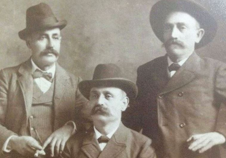 A photo of the Hartman brothers, Levi, Moses and Gustav, who resided in the Deep South in the late 19th century.