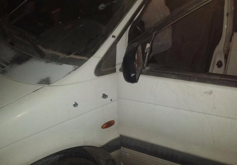 Bullet holes seen in the vehicle from shooting that left Israeli couple dead. Credit: IDF Spokesperson's Unit