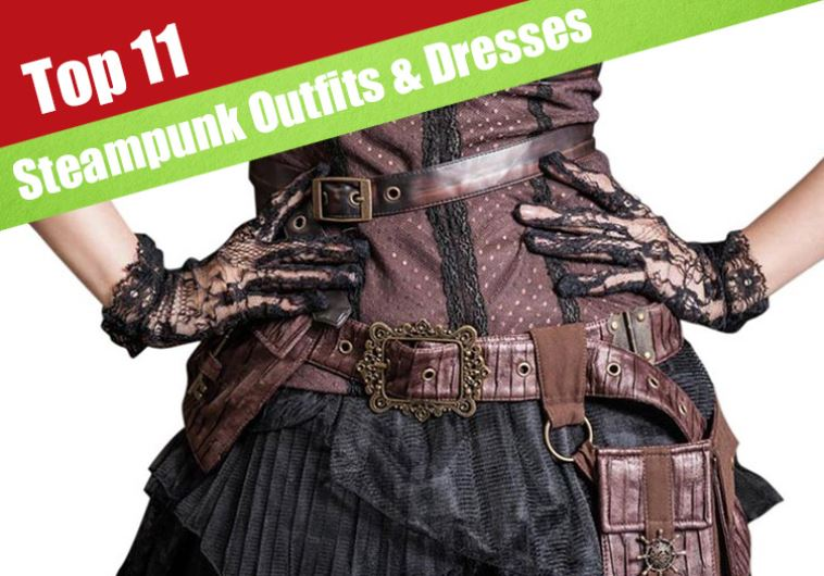 fc0ce39987 The 11 Coolest Steampunk Outfits & Dresses You Can Buy - Jerusalem Post