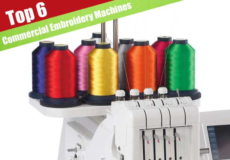 6 Best Commercial Embroidery Machines For 2019 - Jerusalem Post