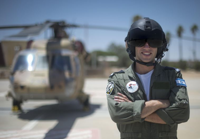 Lt Omer, who will become an IAF Blackhawk helicopter pilot. (photo credit: IDF SPOKESMAN'S UNIT)