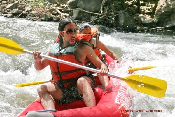 Jordan River Rafting.(photo credit: Courtesy)