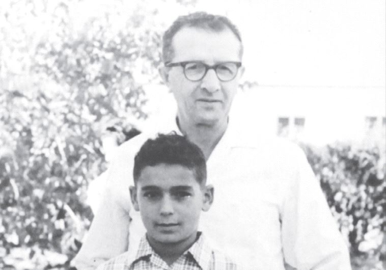 Amiri with his adoptive father, Elhanan (Ra'anan Cohen)
