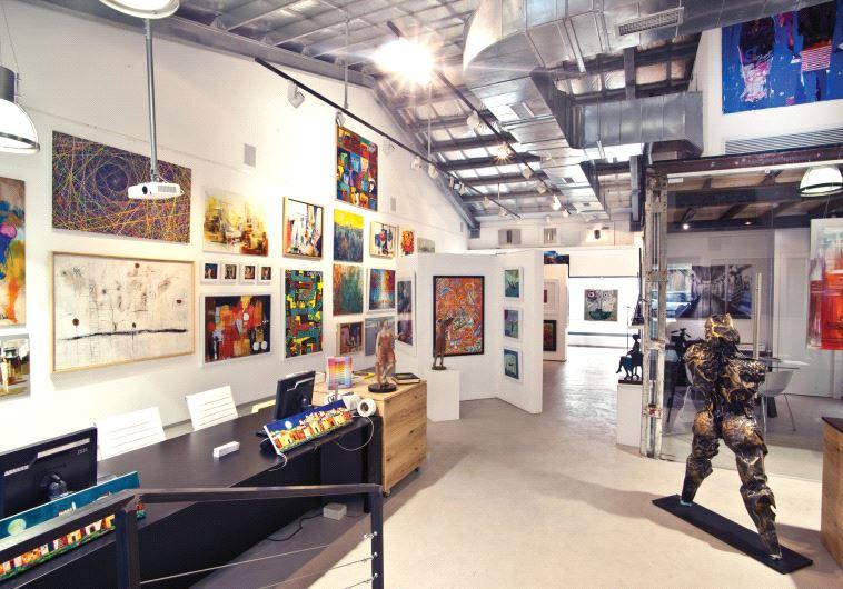 Art Market in the Port of Tel Aviv