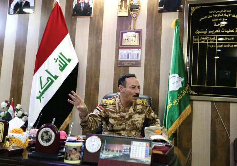 Iraqi Army Maj.-Gen. Najim al-Jabouri says politicians are 'using sectarianism to keep their positions' (photo credit: REUTERS)