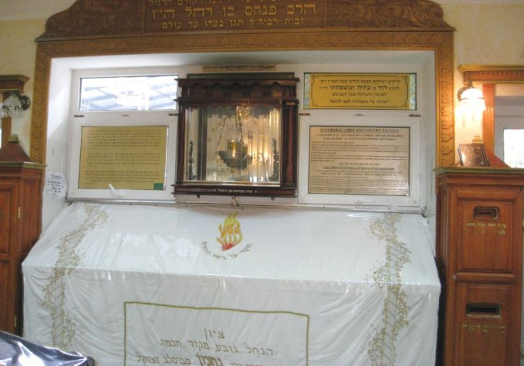 Place of pilgrimage: Rabbi Nahman  s tomb today (photo credit: WIKIMEDIA)