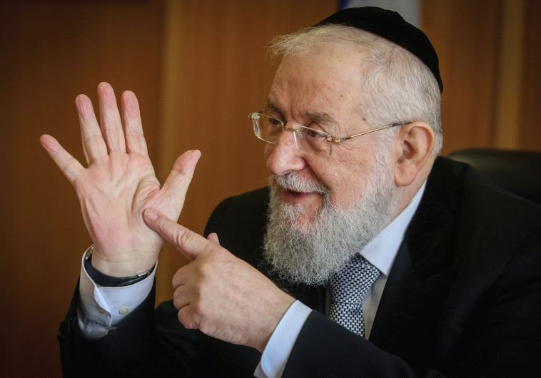 Yisrael Meir Lau.(photo credit: Marc Israel Sellem)