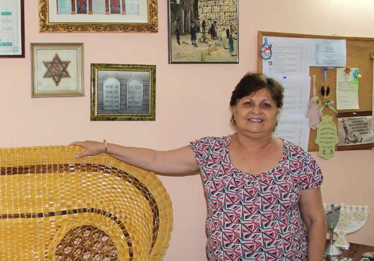 Dr. Mayra Levy, president of the Centro Hebreo Sefaradi de Cuba, worries about the fate of the community as many younger Jews opt for emigration or aliya (photo credit: JUDITH SUDILOVSKY)