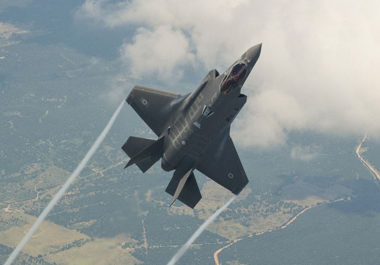 The Lockheed Martin F35 fighter jet plane, also known as the Adir, in a test flight (Credit: Lockheed Martin)