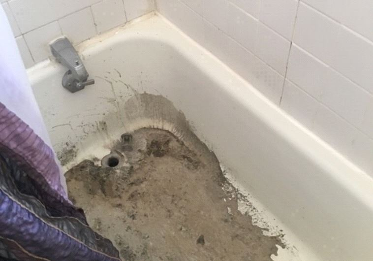 Cement was poured down the pipes of one Cincinnati family's home (Pat Jud/GoFundMe)