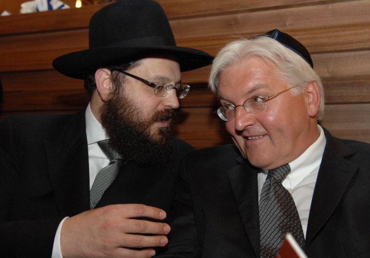 Rabbi Teichtal and Steinmeier