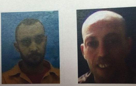 The two arrested suspects