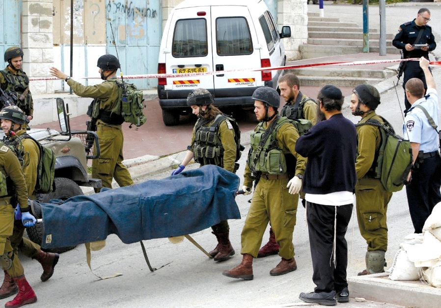 IDF Sgt. Elor Azaria was filmed shooting a seemingly incapacitated Palestinian assailant on March 24 2016 in Hebron (Reuters)
