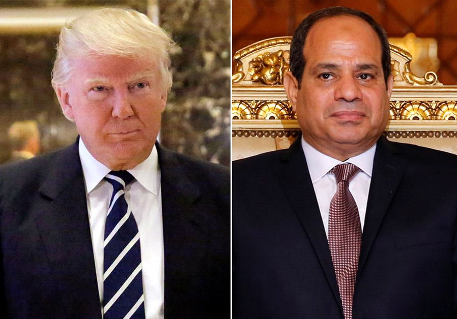Trump seeks to 'reboot' US relationship with Egypt in Monday talks