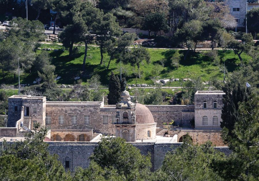 Valley of the Cross Jerusalem.(photo credit: MARC ISRAEL SELLEM)