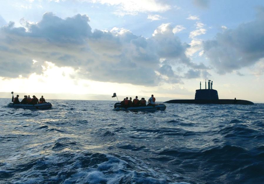 The Dolphin-class submarine first entered service in 2000. Credit: IDF Spokesperson's Unit