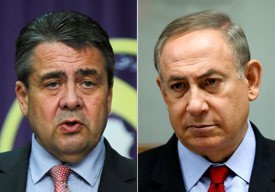 Netanjahu szerint a német külügyminiszter érzéketlenül viselkedett Izraelben