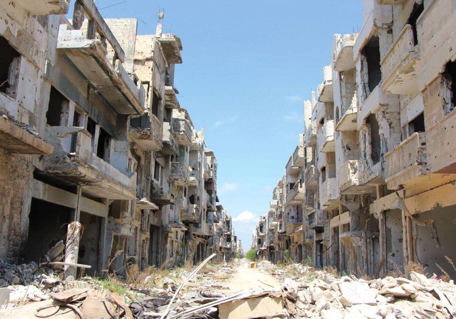 Homs, Syria (Jonathan Spyer)