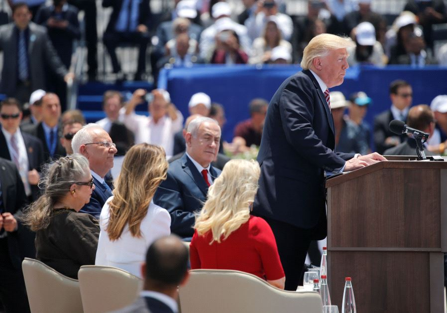 Trump Kept Away from the Knesset by Unruly MKs