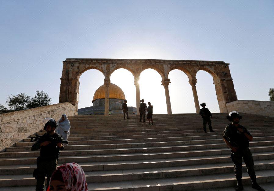 Jew Detector: Bibi Justifies Removal Of Temple Mount Security