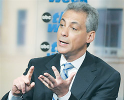 Emanuel to rabbis: US 'screwed up'
