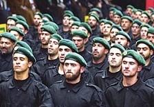 Hizbullah fighters in training [illustrative]