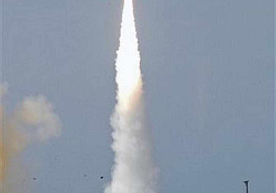 An Arrow 2 missile test
