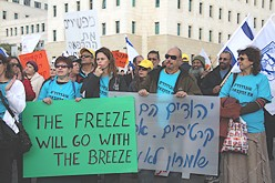 settlers protest anti freeze 248 88