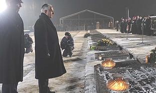 Netanyahu at Auschwitz on Wednesday