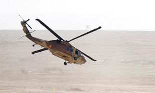 An IAF helicopter.