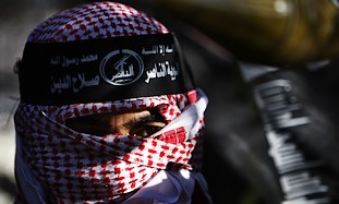 A member of the Hamas-affiliated Popular Resistanc