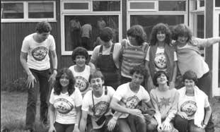 At Camp Eder Farm, 1979