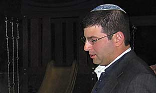 Rabbi Seth Farber.