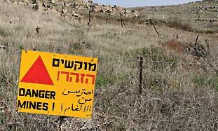 Golan mines