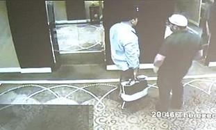 CCTV footage from Dubai.