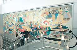 THE MURAL 'Rejoicing and Festival of the Americas'