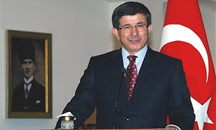 Turkish Foreign Minister Ahmet Davutoglu.