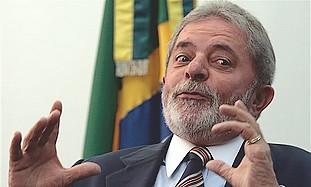 Brazilian President Luiz Inacio Lula da Silva.